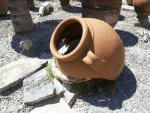 The broken vase Royalty Free Stock Photo
