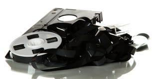 Free Broken Videotape Royalty Free Stock Images - 25214709
