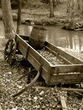 Broken Wagon Stock Images