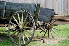 Broken Wagon Stock Photography