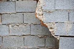 Broken wall Stock Image