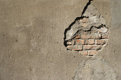 Broken Wall Stock Images
