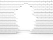 Broken wall Royalty Free Stock Image