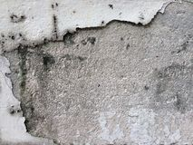 Broken wall. Background Stock Image