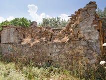 Broken wall Royalty Free Stock Photography
