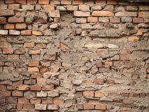 The broken wall Stock Image