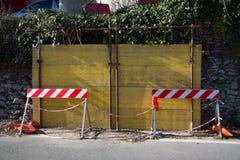 Broken wall Stock Photography