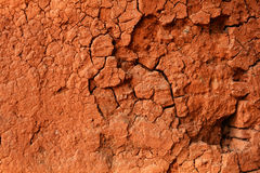 Broken walls clay Stock Image