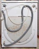 Broken washing machine. Royalty Free Stock Images