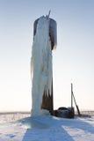 Broken water tower Royalty Free Stock Photos