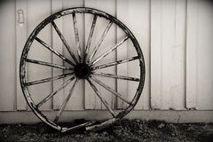 Broken Wheel Royalty Free Stock Photos