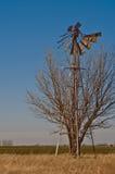broken windmill 7416 Fotografering för Bildbyråer