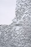 Broken window Royalty Free Stock Image