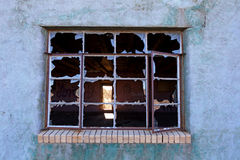 Broken Window Royalty Free Stock Images