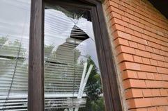 Free Broken Window Royalty Free Stock Photography - 55692287