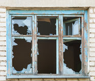 Broken window. Background for design royalty free stock images