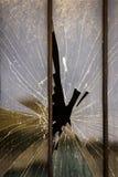 Broken window Royalty Free Stock Photography
