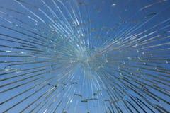 A Broken Window Stock Images