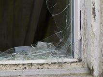 Broken window Royalty Free Stock Photos