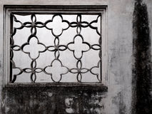 Ancient window of a Chinese mansion Royalty Free Stock Photos
