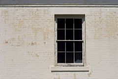 Broken Windows royalty free stock image