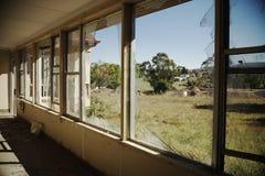 Broken windows Royalty Free Stock Photos