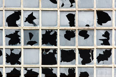 Broken windows Royalty Free Stock Photo