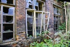Broken windows Royalty Free Stock Image