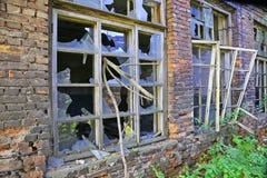 Broken windows Stock Photography