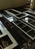 Broken windows Royalty Free Stock Images
