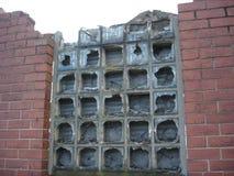 Broken Windows in Urban Scene Royalty Free Stock Photo