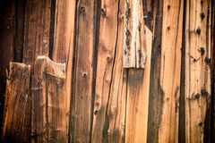 Broken Wood Planks Backdrop Royalty Free Stock Photos