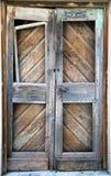 Broken wooden door Royalty Free Stock Image
