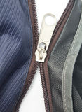 Broken zipper. Or separating zipper Royalty Free Stock Photography