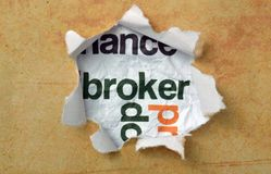 Broker concept Royalty Free Stock Images