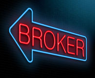 Broker concept. Stock Images