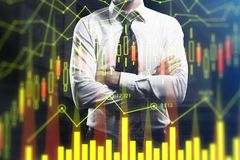 Broker and investment concept Royalty Free Stock Photography