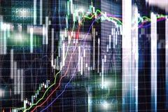 Broker monitoring center. Stock market management center. Trading algorithms on server room royalty free stock image