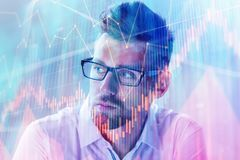 Broker and trader concept Stock Photo
