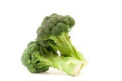 Brokkoli auf einem weißen Hintergrund Lizenzfreie Stockfotografie