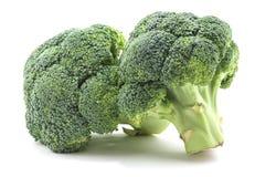 Brokkoli auf Weiß Stockbild