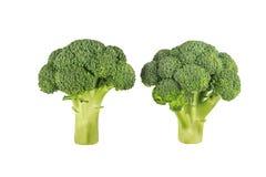 Brokkoli getrennt auf weißem Hintergrund Lizenzfreie Stockfotografie