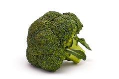 Brokkoli lokalisiert auf Weiß Stockbild