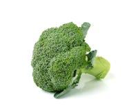Brokkoli lokalisiert auf weißem ackground Lizenzfreie Stockfotos