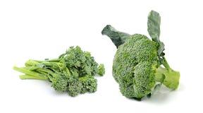 Brokkoli lokalisiert auf weißem ackground Stockfoto