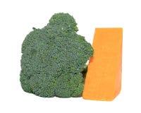 Brokkoli und Käse Stockfotos