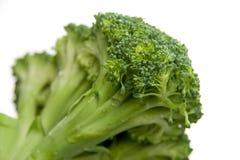 Brokkolinahaufnahme Stockfoto