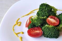 Brokkolisalat stockfotografie