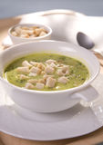Brokkolisuppe Stockfotos