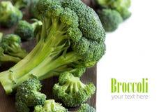 brokuły, świeże Obraz Stock